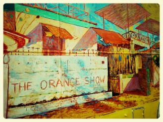 Orange Show Art Bus