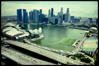 Singapore flyer View