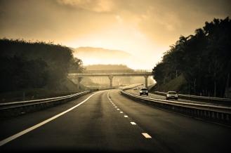 On the way to Bentota