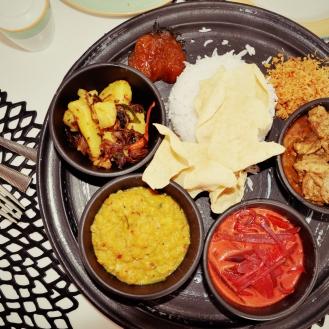 Yummy Srilankan Thali