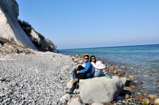 Just getting a feel how Copenhagen's little mermaid feels sitting on the rock all day :P