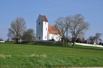 On the way-Old church
